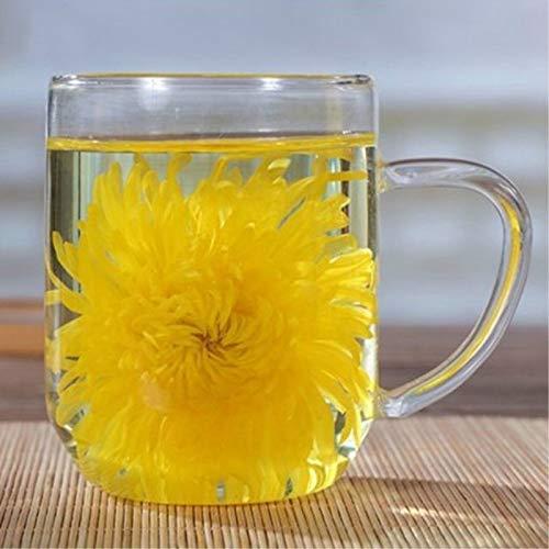 4 Stück 4g / pc Chrysantheme eine große Tasse Bio-Kräutertee Kräutertee duftenden Tee Blumentee Botanischer Tee Kräutertee Grüner Tee Roher Tee Blumen Tee Gesundheit Tee Chinesischer Tee