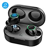 Auriculares Inalambricos, Mpow Auriculares Bluetooth, Auriculares Inalambricos Deportivos con 2 Modos, IPX7 Impermeables 40H Playtime Hi-Fi Estéreo In-Ear con CVC 6.0 Mics Dual, Control Tactil