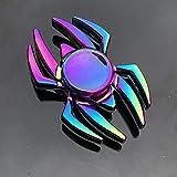 GRH Focus Toys Gyro Toys Colorido Aleación de Zinc Fidget Spinner Descompresión Juguete pequeño R188 Rodamiento de Metal Rainbow Hand Spinner para Adultos Niños