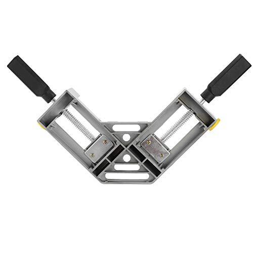 QPLKL Zimmerarbeiten Werkzeug zur Holzdoppelhandgriff for CNC Graviermaschine Fräswerkzeug 90 Grad Clips Ecke rechtwinklig Schellen (Size : NORMAL)