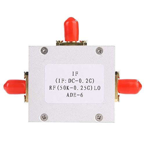 Keenso Doppelpass-Mischpult aus Pessach ADE-6 Low Noise Passive Mixer Diode Double Balanced Mixer Frequenzkonverter 0,05-250 MHz