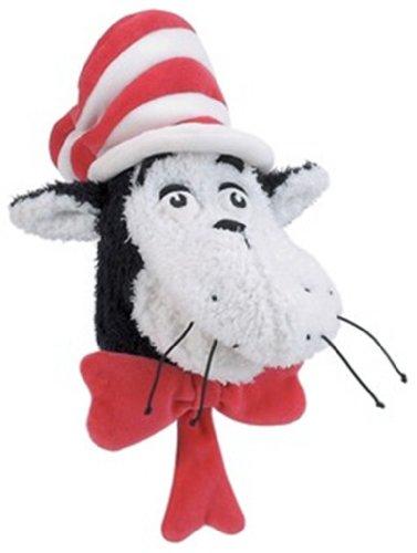 Manhattan Toy Dr. Seuss Cat dans le chapeau en peluche marionnette