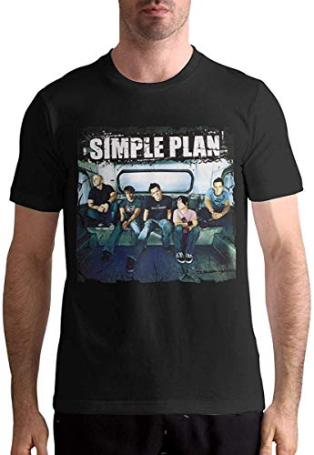 Man's Simple Plan Music Band Cool Hip Pop Cycling Cotton Tee Gift