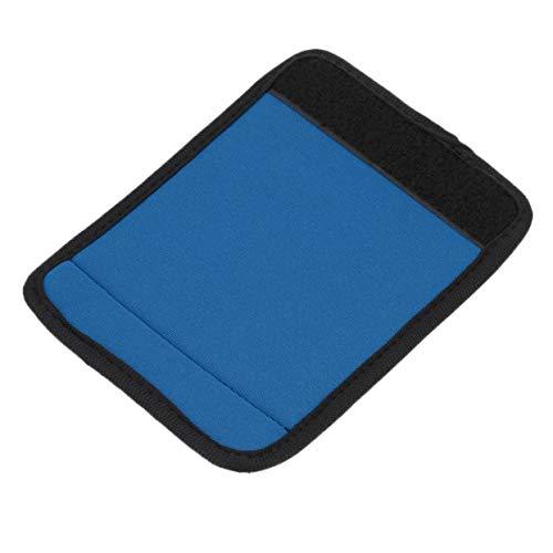 Shenykan Mango de Neopreno Ligero y cómodo Envuelve/Agarre/identificador para Bolsa de Viaje Maleta de Equipaje Que se Adapta a Cualquier asa de Equipaje - Azul