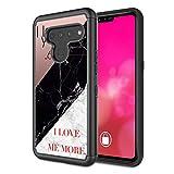 Coque de protection Rossy pour LG G8 ThinQ, LG G8 - En plastique TPU hybride double couche - Motif...