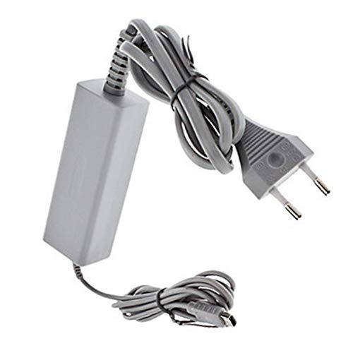Vervanging voor Wii U-console 110-240V Charger 4.75V / 1.6A grijze kunststof muur Adapter Voeding