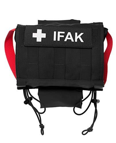 Tasmanian Tiger TT Head Rest IFAK Molle Erste Hilfe Kfz Auto Tasche für Kopfstützen leer, Schwarz
