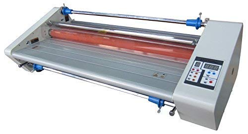 """Budget 2700 Plus Thermal (hot) 27"""" School Office Roll Laminator inc. 4 Free Rolls of 1.5mil 25"""" Laminating Film and Heavy Duty All Metal Construction"""