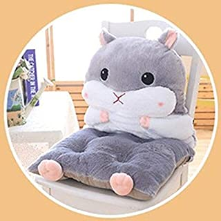 eSunny New Hamster Plush Chair Or Sofa Pillow 3-in-1 Back Cushion Pillow Seat Cushion Hand Supporter Kids Adults Stuffed Animals Toy New Must Haves 7 Year Old Boy Gifts Toddler Favourite