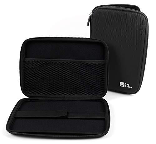Duragadget - Funda rígida para Samsung Galaxy Tab A7 de 10,4', Tab S6 10,5', Tab S6 Lite 10,4', Tab S7 11', color negro
