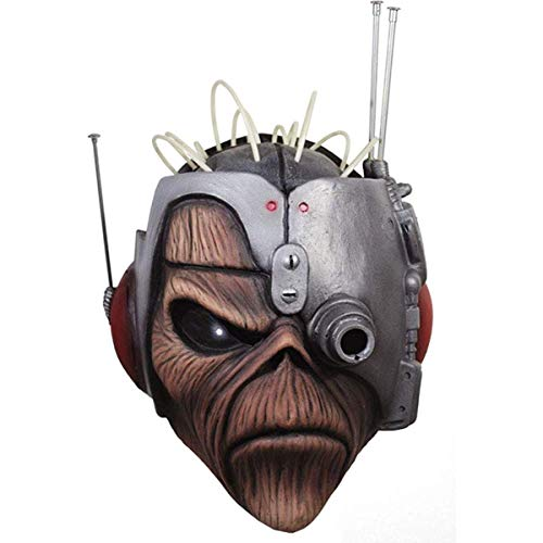 Trick or Treat Studios Iron Maiden Somewhere In Time Eddie Adult Latex Costume Mask