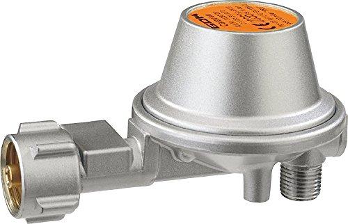 GOK Gasregler - 50mbar - 0,8kg/h - 90° abgewinkelt - ohne Manometer