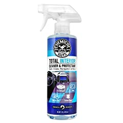 Cleans and protects virtually all car interior surfaces Gentle formula won't spot, stain, or etch sensitive materials Protects against fading and discoloration from harsh UV solar rays Safe for dashboards, windshields, nav screens, leather, vinyl, cl...