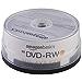 AmazonBasics 4.7GB 4X DVD+RW - 30-Pack (Renewed)