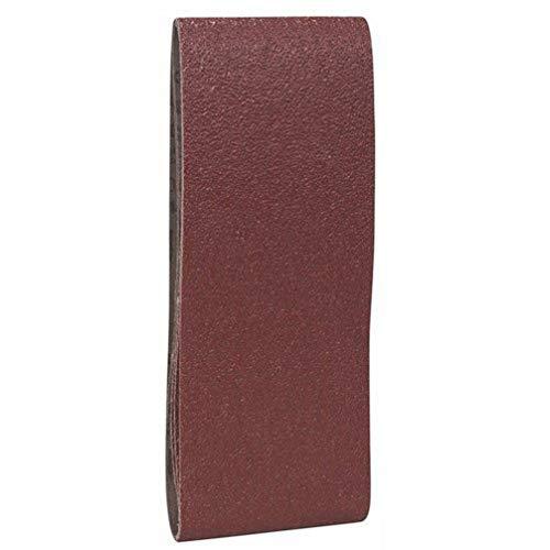 Bosch Pro Schleifband für Bandschleifer Holz und Farbe Best for Wood and Paint (3 Stück, Körnung 80, X440)