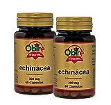 Obire | Equinácea 300 mg | 60 Cápsulas (Pack 2 unid.)