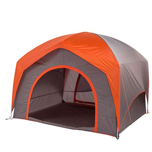 Big Agnes Unisex's Big House Tent, Orange/Taupe, 6 Person