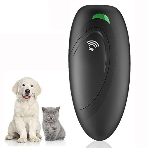 VINSIC Anti-Bell-Gerät für Hunde, Ultraschall Anti-Bellen-Gerät mit 5 Meter Regelbereich, Hunde Anti-barke mit LED-Licht, Sichere und Schmerzfreie Hunderkontrolle für den Innen- und Außenbereich
