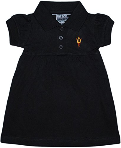 Arizona State University Trident Polo Dress/Bloomer Black