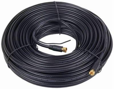 Audiovox VHB6111GN - Cavo coassiale RG6, Lunghezza 30,5 m, Colore: Nero