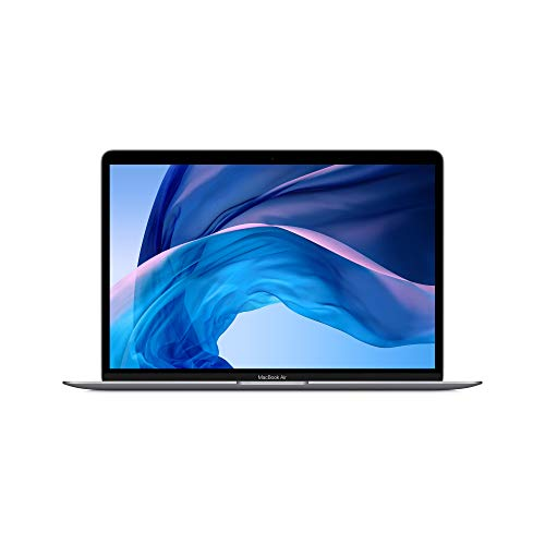 New Apple MacBook Air (13-inch Retina Display, 8GB RAM, 256GB SSD Storage) - Space Gray (Previous Model).