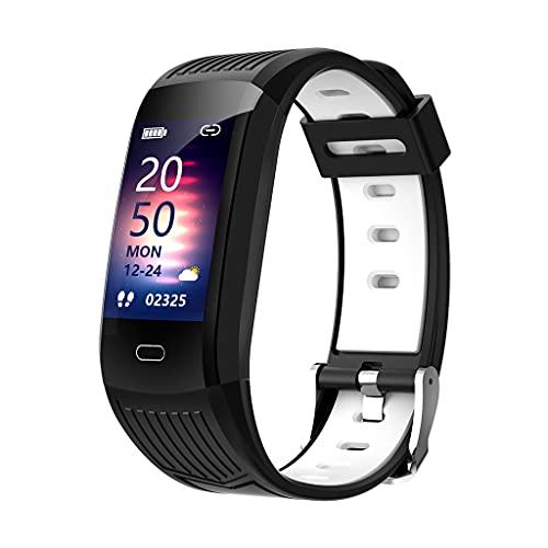 Wenyounge Monitor de Actividad física con Monitor de frecuencia cardíaca, Reloj de Fitness Resistente al Agua, Papel Tapiz Bluetooth Personalizado con Monitor de Actividad