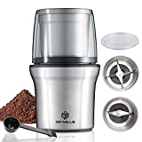 DR MILLS DM-7412M Electric Dried Spice and Coffee Grinder, Grinder and chopper,detachable cup, OK for clean it with water, Blade & cup made with SUS304 stianlees steel