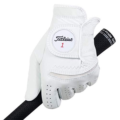 TITLEIST Perma Soft Handschuh Herren weiß Linke Hand/S