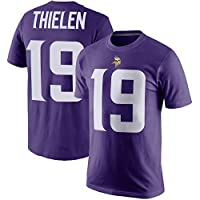 Outerstuff Adam Thielen Minnesota Vikings Purple Toddler Dri Fit Pride Name and Number Jersey T-Shirt (2T)