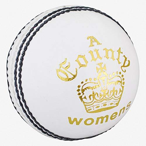 Readers County Crown Pelota de críquet, Mujer, Blanco