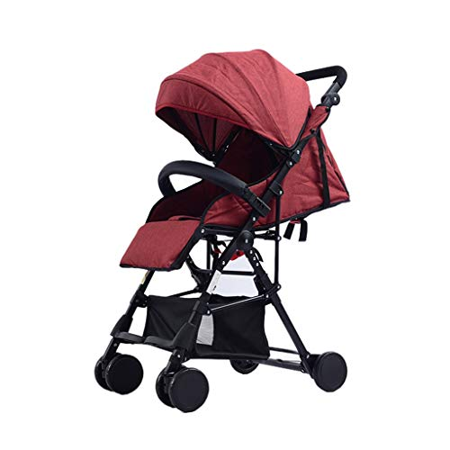 Buy XYSQ Stroller Pushchair Pram Carriage Stroller - Pushchair Stroller Compact Convertible Luxury S...