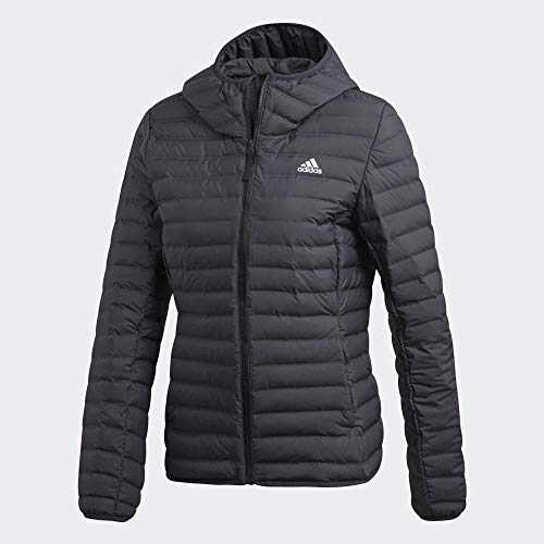 adidas Damen W VARILITE SO H Sport Jacket, Carbon, M