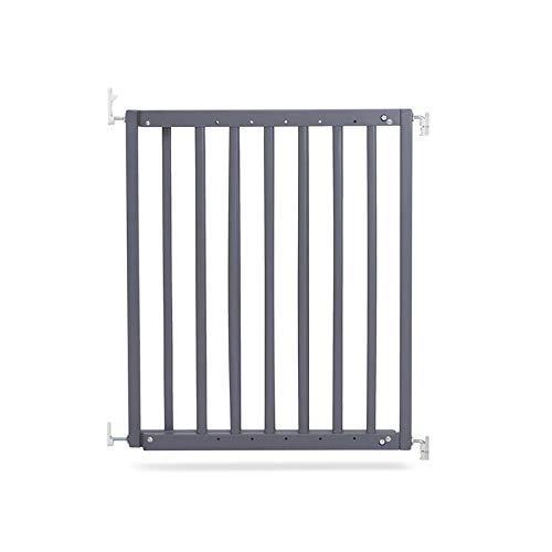 Geuther 2710 GU 2710 Barrière de protection pour portes et escaliers à visser sans barrière, pour ouvertures de 63,5 à 105,5 cm, gris, 3,81 kg