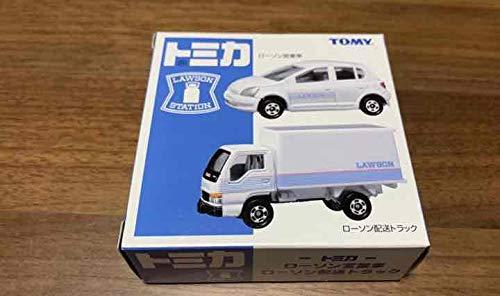トミカ ローソン限定 営業車 配送トラック 2台セット