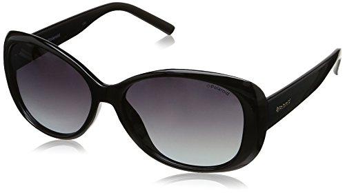 Polaroid PLD 4014/S WJ D28 Gafas de sol, Negro (Shiny Black/Grey Sf Pz), 57 para Mujer