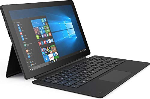 Linx 12X64 - 12.5-inch Tablet with Keyboard Intel Atom x5-Z8350 / 1.44 GHz (1.92 GHz Turbo) Quad Core Processor, 4GB RAM, 64GB Storage, Windows 10 - LINX12X64 (Renewed)