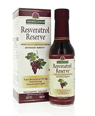Nature's Answer Resveratrol Reserve, 5 Oz