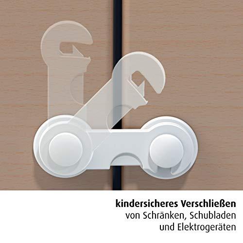 reer Schrankschloss, 1 Stück, weiß