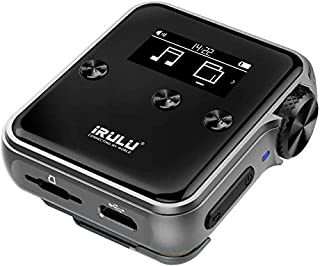 iRULU H10 High Resolution Mp3 Player with Bluetooth:16GB DSD HiFi Lossless Audio Player Metal with Clip for Music Lover an...