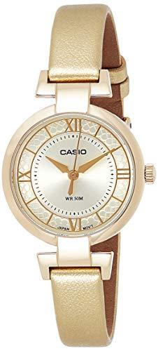 Casio Reloj de Mujer LTP E403GL 9A