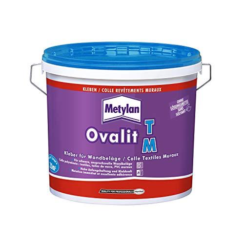 Metylan Ovalit TM Colle textiles muraux, Blanc