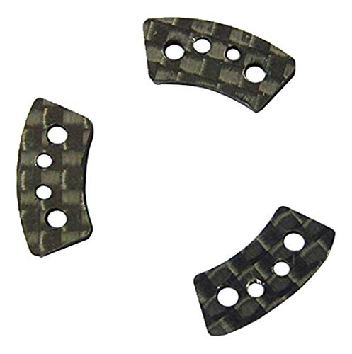 Hot Racing TRX15GS Carbon Fiber Slipper Clutch Pads (3) - Tr@xx@s