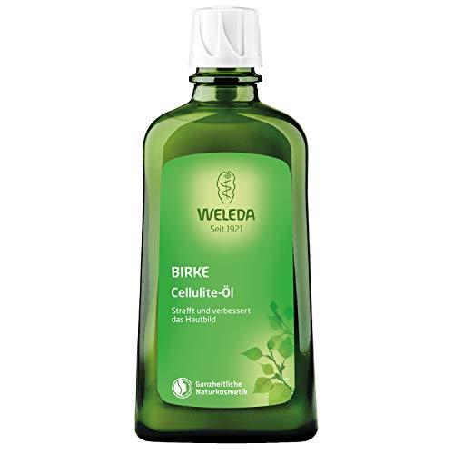 WELEDA Birken Cellulite-Öl, straffendes Naturkosmetik Körperöl für neue Spannkraft und glatte Haut, Wirkung dermatologisch bestätigt und mit angenehmem Duft (1 x 200...