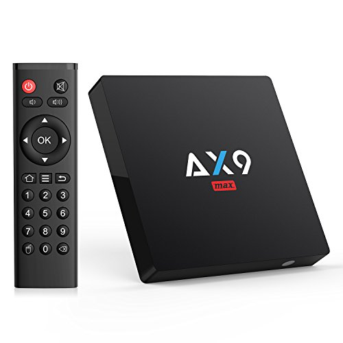 Bqeel [Android 7.1/2GB/16GB] AX9 MAX Android TV BOX/4K...