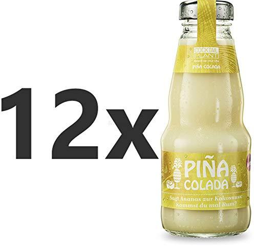 Cocktail Plant Pina Colada (10,1{c56ca1be6827fa20e898df17d2c0da59d3c11b5b2782534aa848ae17d3586c85} Vol) 12x 0,2l = 2,4l - inkl. Pfand MEHRWEG - [Enthält Sulfite]