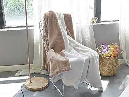 Mjdynasty Decke Decke Multifunktionsdecke Abnehmbare Haar Ball Decke, Kamel weiß, M Nr. 150  200cm B07G875DP6 | Öffnen Sie das Interesse und die Innovation Ihres Kindes, aber auch die Unschuld von Kindern, kindlich, glücklich