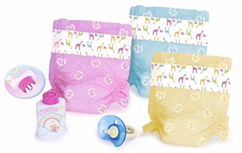 Nenuco - Pañales de Colores (Famosa 700009027) , color/modelo surtido