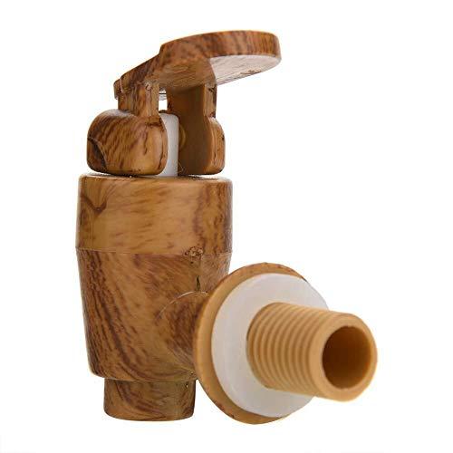 Xhui66 FEIFEI Pure Oak vaten, 1,5 liter, 3 liter, 5 liter, 10 liter, gevoerd met aluminiumfolie, bewaar je eigen whisky, bier, wijn, cognac, enz. Of voor familie, bar, feesten en banketkelders