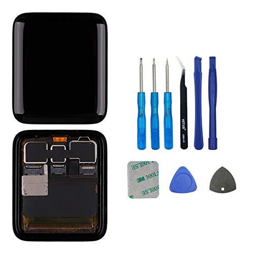 swark Pantalla LCD compatible con Apple Watch Series 3 38 mm (3ª generación), GPS + pantalla LCD celular con digitalizador y kit de herramientas.
