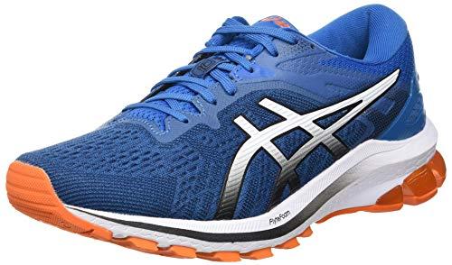 Asics GT-1000 10, Road Running Shoe Hombre, Reborn Blue/Black, 41.5 EU